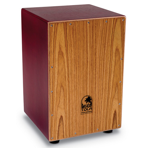Toca Colorsound Cajon Series Wooden Cajon in Red